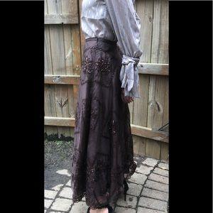 Lafayette 148 New York Silk Skirt